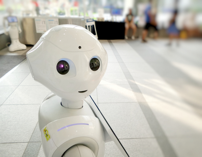 Robots to boost customer experience