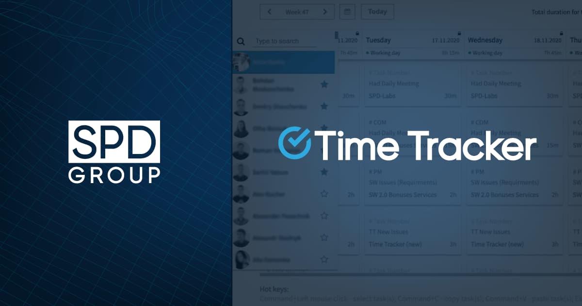 TimeTracker An HR Tech Solution by SPD Group